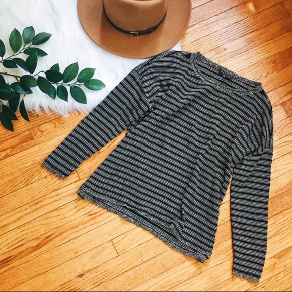 4e10187f4a8 Eileen Fisher Sweaters - Eileen Fisher • Boho Slouchy Striped Knit Sweater